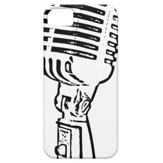 Old Mic iPhone 5 Covers