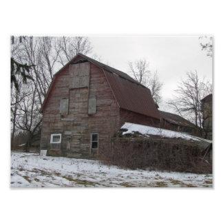 Old Michigan Barn Photo