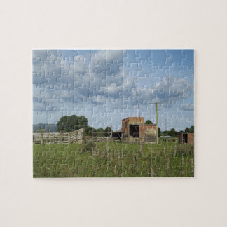 old milking farm jigsaw puzzle