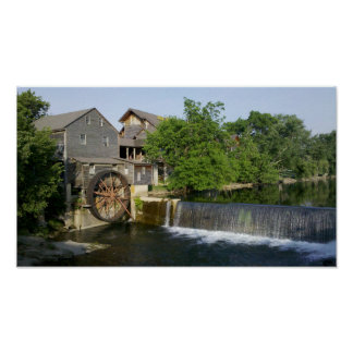 Old Mill in the Great Smoky Mountains Poster