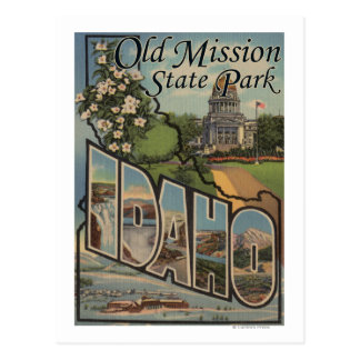 Old Mission State Park, Idaho Postcard