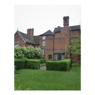 Old Moseley Hall near Wolverhampton Letterhead Template