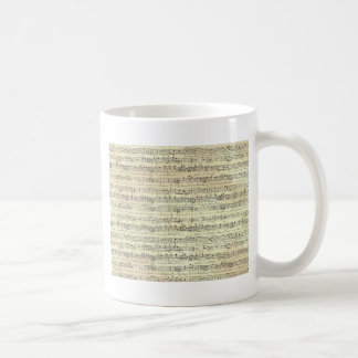 old music coffee mug