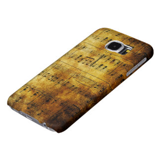 Old Music Sheet Samsung Galaxy S6 Cases