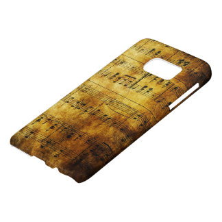 Old Music Sheet Samsung Galaxy S7 Case