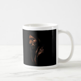 Old Native American Basic White Mug