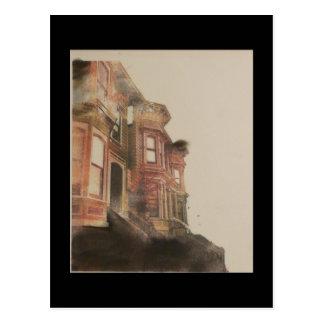 Old neighborhood postcard