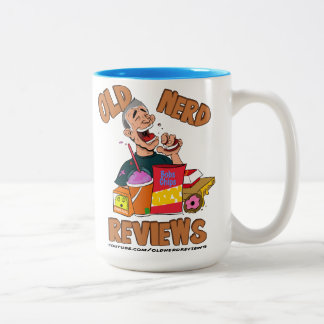 Old Nerd Reviews Two-Tone Large Mug