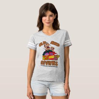 Old Nerd Reviews Women's Football T-Shirt