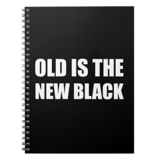 Old New Black Note Book