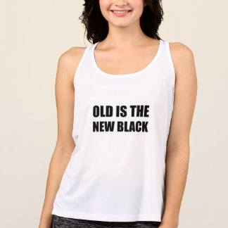 Old New Black Tank Top