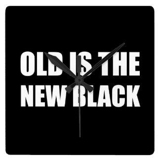 Old New Black Wall Clocks