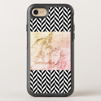 Old Newfoundland Map - OtterBox Symmetry iPhone 8/7 Case