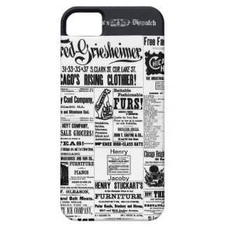Old Newspaper Ads Times Dispatch iPhone 5 Cover