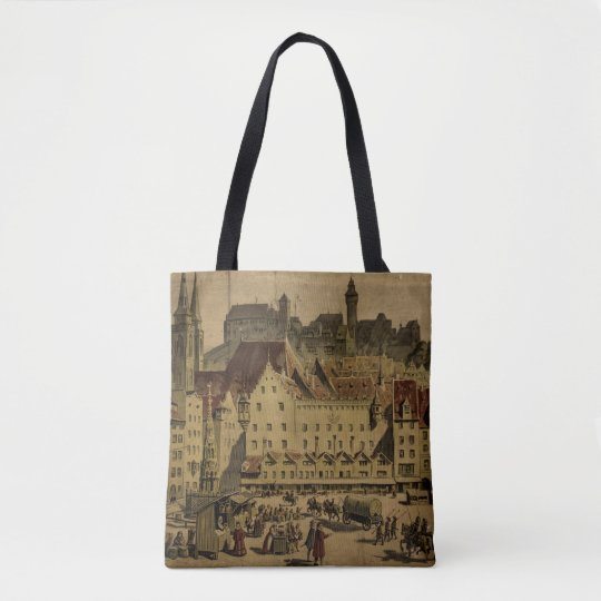 Old Nuremberg Vintage Tote Bag