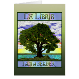 Old Oak Bookplate Card
