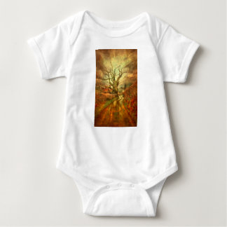 Old Oak Tree ....... Baby Bodysuit