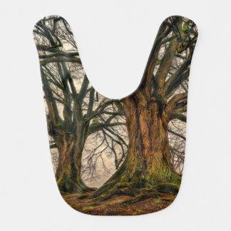 Old Oak Tree in Winter Bib