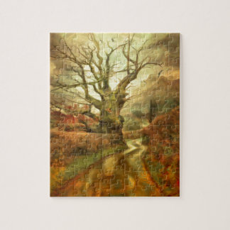 Old Oak Tree ....... Jigsaw Puzzle