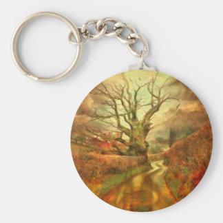 Old Oak Tree ....... Keychain