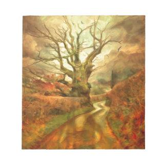 Old Oak Tree ....... Notepad