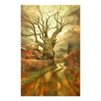 Old Oak Tree ....... Stationery