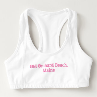 Old Orchard Beach, Maine Sports Bra