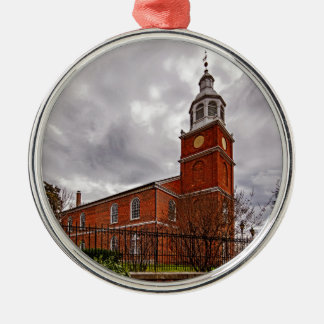 Old Otterbein UMC in Baltimore Metal Ornament