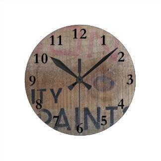old paint box aotearoa new zealand round clock