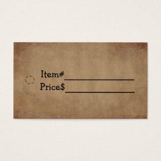 Old Paper Hang Tag