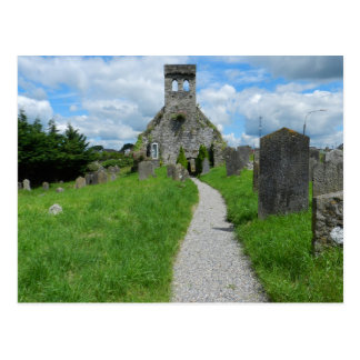 Old Parish Church in Cahir - Ireland Postcard