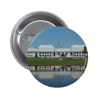 Old Parliament House Of Canberra Across The Lake Pin