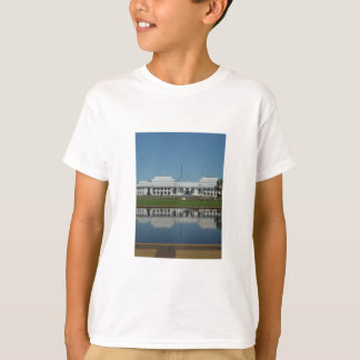 Old Parliament House Of Canberra Across The Lake T-Shirt