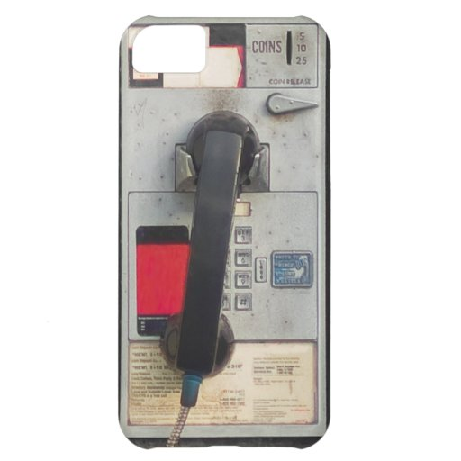 Old Pay Phone Case For iPhone 5C