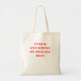 old person tote bag