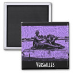 Old Photo Versailles Fountain Magnets