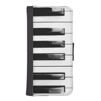 Old Piano Keys iPhone SE/5/5s Wallet Case