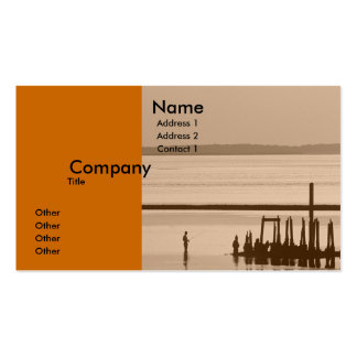 Old Pier Pack Of Standard Business Cards