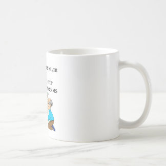 old plumbers never die coffee mug