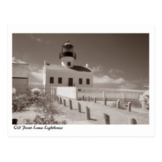Old Point Loma Lighthouse, II Postcard