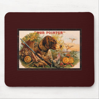 old pointer mouse pad