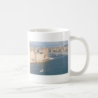 Old port of Marseilles Coffee Mug