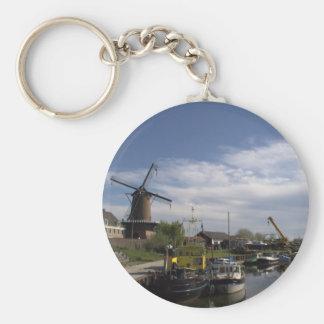 Old Port, Wijk bij Duurstede Keychain