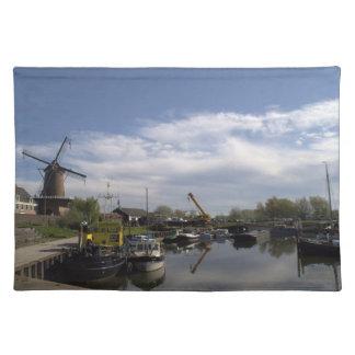 Old Port, Wijk bij Duurstede Place Mat