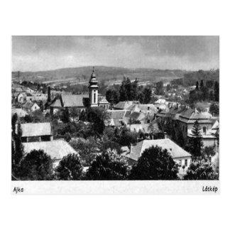 Old Postcard - Ajka, Hungary