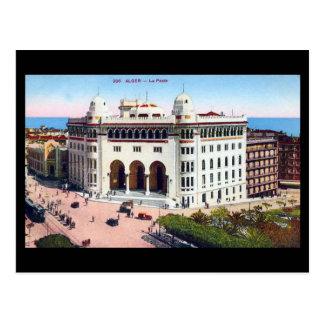 Old Postcard - Algiers, Post Office