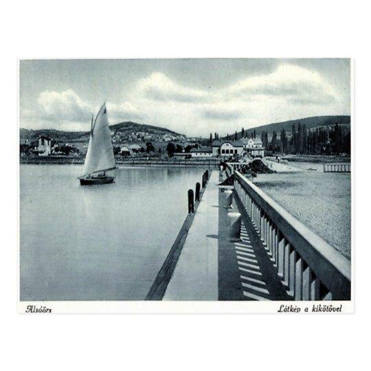 Old Postcard - Alsóörs, Hungary