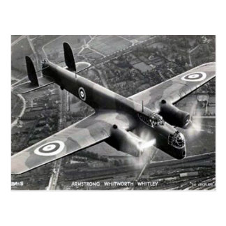 """Old Postcard - Armstrong Whitworth """"Whitley"""""""