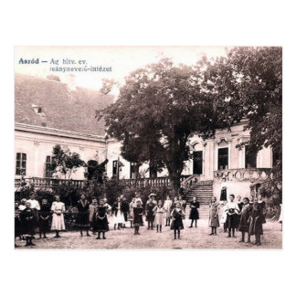 Old Postcard - Aszód, Hungary.