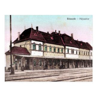 Old Postcard - Bátaszék, Hungary